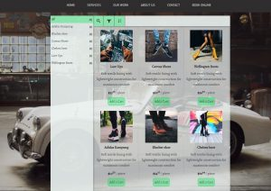 Embed your products on wix website builder