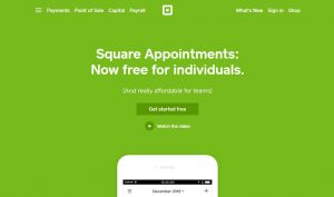 Square Appointments appointment scheduler