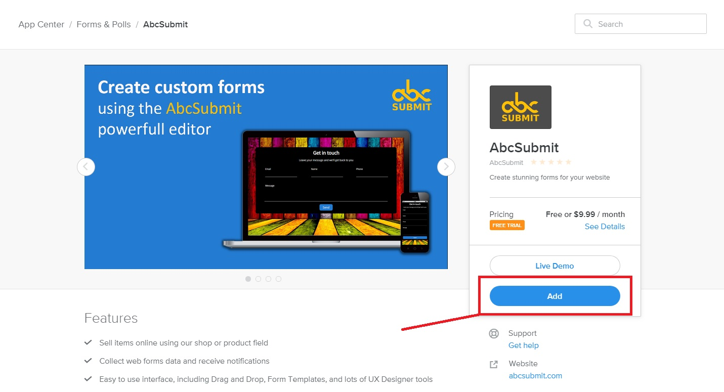 How to Add Forms to Your Weebly Websites | AbcSubmit